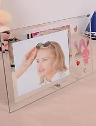 Les amateurs de verre transparent cadre photo