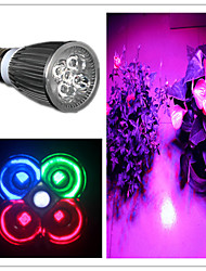 Spot/Projecteurs PAR Violet MORSEN B E26/E27 5 W 5 LED Haute Puissance 500 LM 1 K AC 85-265 V