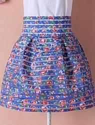 alta cintura de las mujeres delgadas de la manera cortó faldas