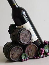 Fashion Design Resin Wine Rack Holder Bar Bottle Shelf Bar Decor Display