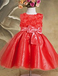 vestido de princesa linda manera de la muchacha