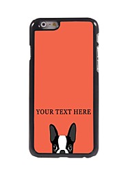 Personalized Phone Case - Dog Design Metal Case for iPhone 6