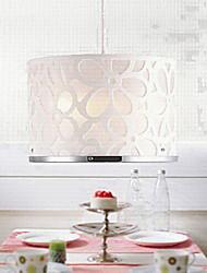 40w pingente lights2 ilumina design romântico de metal