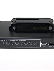 "1080P RM/RMVB/AVI/MPEG4 Media Player for 2.5""/3.5"" SATA HDD with USB Host and SDHC"