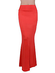 Women's High Waist Elegant Maxi Skirt