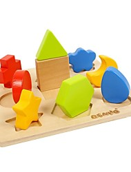 BENHO Brich Wood Plywood Shape Sorter Board-Ⅰ Wooden Toy