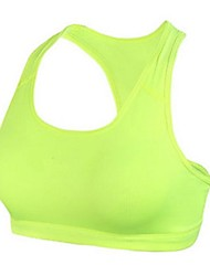 Women's Polyester&Elastano Breathability Yoga Cycling Dancing Runing Fitness Camisole
