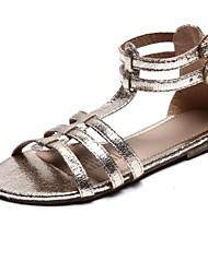 Sandales ( Or ) - Similicuir - Escarpin-sandale/Bout rond
