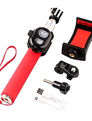 toz bluetooth v3.0 Remote-Edelstahl-Handheld Einbeinstativ w / Mini-Halter-Adapter
