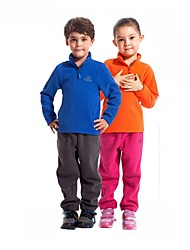 Outdoors Winter Kid's Polyester Multi Colors Windproof Fleece Camping Hiking Jackets