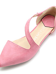 Women's Shoes Pointed Toe Flat Heel Fleece Flats Shoes More Colors available