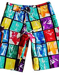 мужские Красочный площади досуга Совет по поиску короткие быстрые сухие пляжные брюки