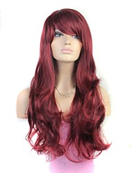 30 Inch Long Fashion Wave Synthetic Wig Heat Resistant Fiber