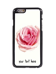 """Personalized Case Rose Design Metal Case for iPhone 6 (4.7"""")"""