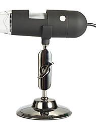 microscópio digital tv? a qualquer monitor com tv-in? 0.3m? 20-200x para um012t
