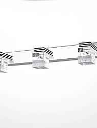 lámpara frontal espejo 3 simple luz moderno artístico