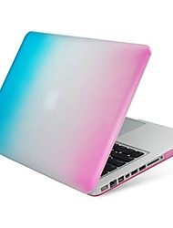 étui de protection en plastique coloré pour MacBook Air 13,3