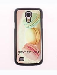 caja del teléfono personalizado - caso del diseño del metal de pan para Samsung Galaxy S4