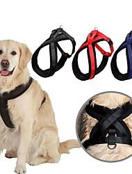 Perros Bozales Ajustable/Retractable / Acabado Mate Rojo / Negro / Azul Nilón