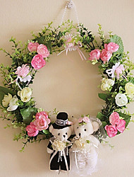 Baby Bear Hanging Flower Décor