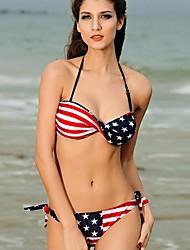 Bikinis/Tankinis/Accesorios de natación/Blusa Traslúcida ( Nilón/Spandex )- Sin Cables/Sujetadores con relleno - Sin mangas para Mujer