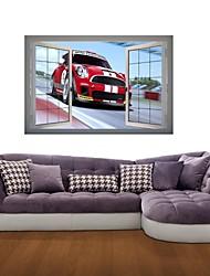 3d stickers muraux stickers muraux, occasionnels voitures fraîches décor vinyle stickers muraux