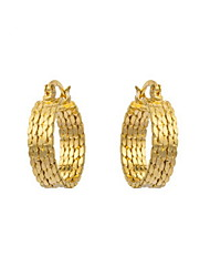 Yue Women's Causual Fashion Round Earrings