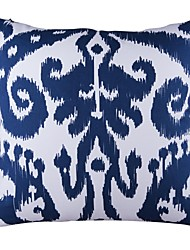 "Modern 18"" Square Ikat Pillow Cover/Pillow With Insert"