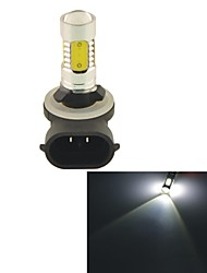 Carking™ Auto 881 11W 5SMD LED Lens Headlamp Foglight Bulb-White(12V 1PC)