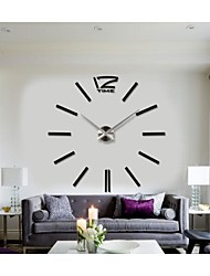 2015 New Home Decor Big Digital Wall Clock Modern Design Large Decorative Wall Clocks Watch Wall Hours Unique Gift