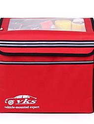 vks ™ plegado aislamiento caja de almacenamiento maletero del coche multiusos plegable