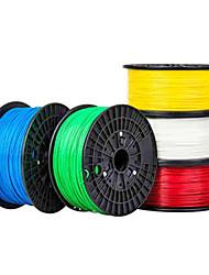 impresión de rito 3d material de filamento impresora 3d consumibles de impresión (pla abs, 1,75 mm, ± 0,03 mm, 1 kg)
