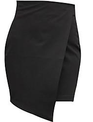 les nouvelles jupes asymétriques des femmes