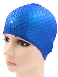 Sanqi Unisex Fashional Comfotable Wearable Waterproof Ear Protection Swimming Cap