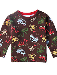 Boy's Cotton Tee , Winter/Spring/Fall Long Sleeve