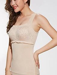 dessin shapewear d'été désossé abdomen push-ups corps minceur du sein shaper gilet beige taille XXXL