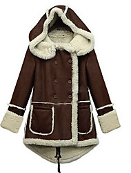 falari Frauen-Mantel warmen Mantel