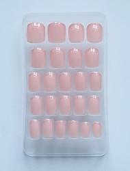 24pc Short Length Clorlor Nail Tips 158
