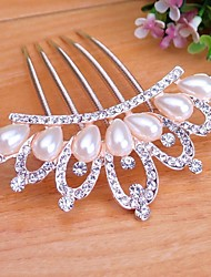 Beautiful Bride Popular Fashion Boutique Luxury Rhinestone Crown Hair Comb