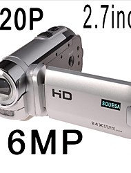 "souesa 2,7 ""lcd 24x zoom hd 720p digitale video camcorder camera dv dvr nieuwe"