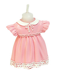 Pink Baby Dress Candle