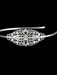 Flower-Shaped Silver-Plated Hoop (1Pc)