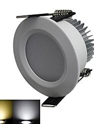 LED Encastrées Blanc Chaud / Blanc Froid 3 W 6 SMD 5630 240-270LM LM AC 100-240 V
