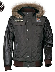 Cafe Ride Motorcycle Moped Short Warm Casual Jacket with Eva Padding at Back