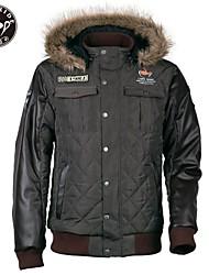 cafe passeio de moto ciclomotor jaqueta casual quente curto com eva estofamento na parte traseira
