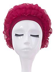 De sanqi vrouwen fashional waterdicht anti-slip oor&bescherming van het haar badmuts