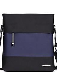 2015 new men's fashion casual shoulder bag Messenger bag Oxford cloth bag vertical section