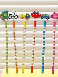 ferramentas de tráfego set ornamento lápis de madeira (6 pcs)