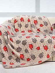 Flannel Baby Blanket 120*160cm Peony Man Brand Sheep Cartoon Soft Blankets/Throw Child Sheet Thick Warm Fleece Cobertor