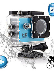 "Winait®1080P Full HD WiFi Sports Camera  With 1.5"" Display and 30M Waterproof Case (Support 32GB Memory Card)"